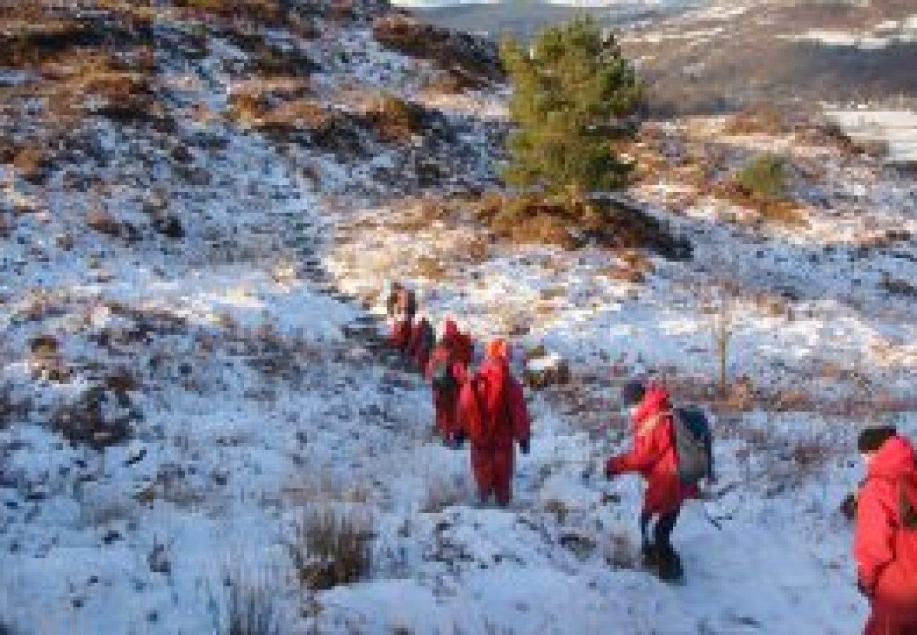 best Winter mountain walking North Wales
