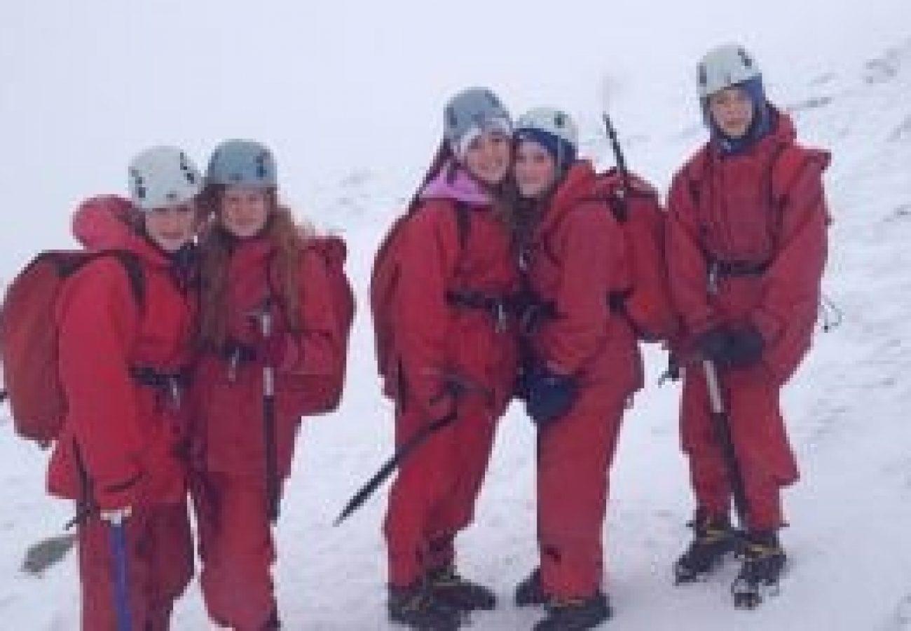 best Winter mountain walking Wales