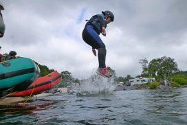 best canoeing-lake-padarn snowdonia