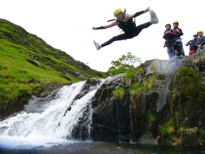best canyoning activity in north wales