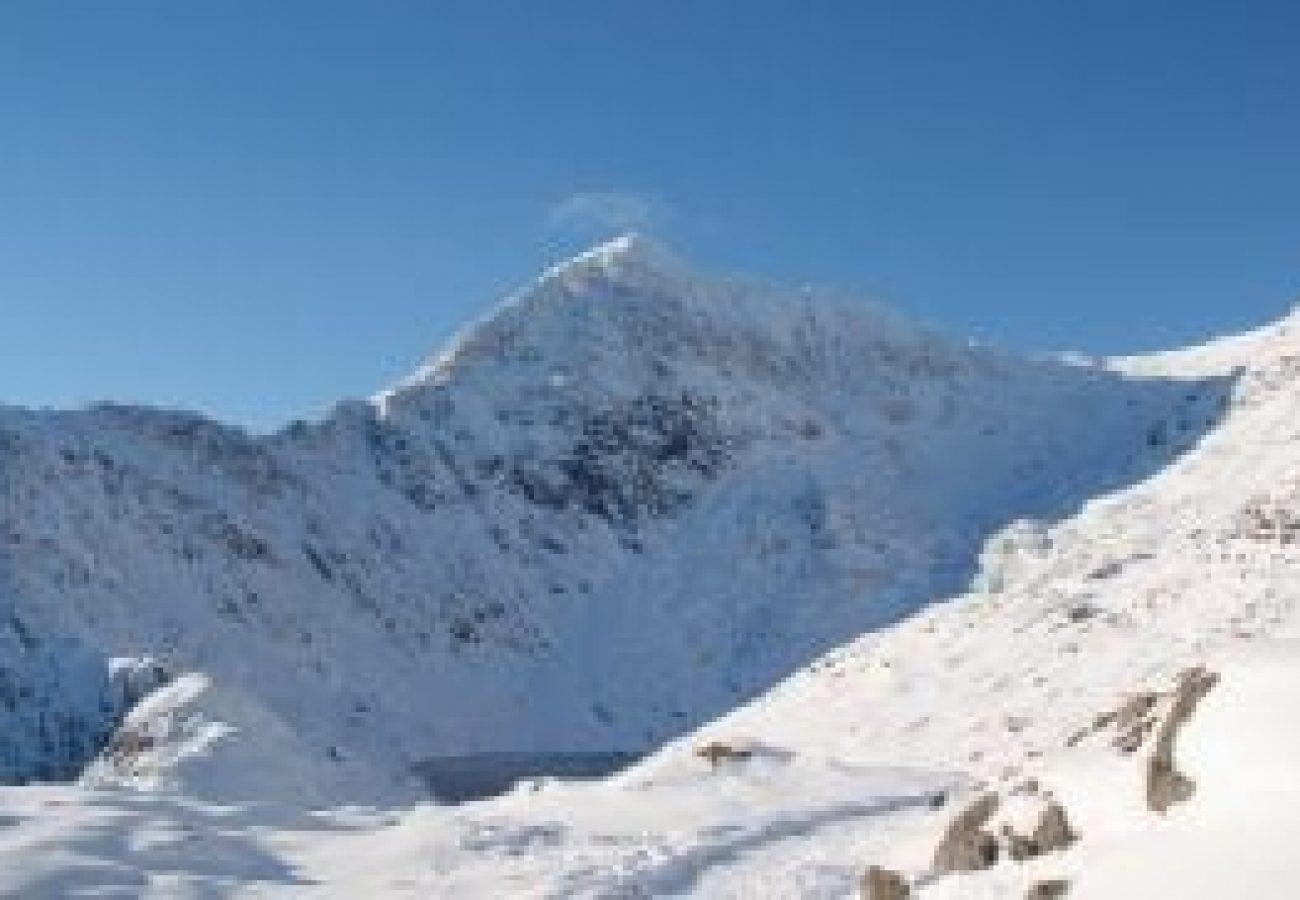best outdoor Winter mountain walking Gwynedd Wales