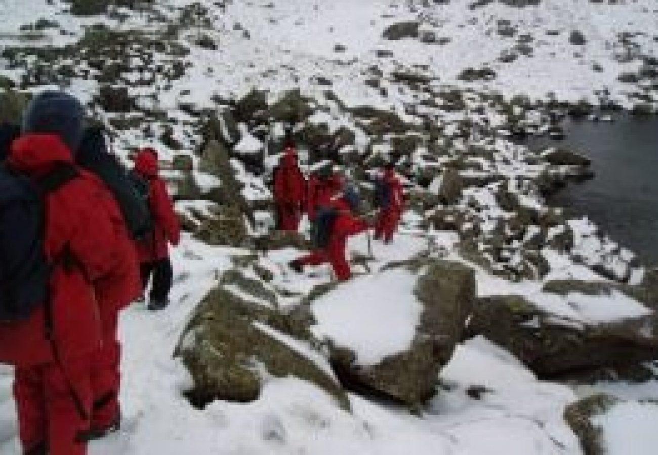 best outdoor Winter mountain walking Midlands