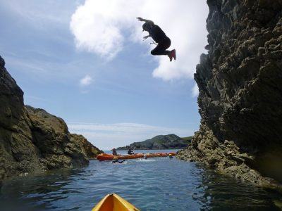 best sea swimming outdoor activity in north wales uk
