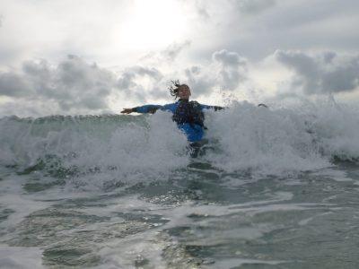 best surfing outdoor activity for kids Gwynedd uk
