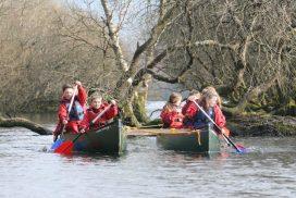 canoeing-lake-padarn north wales