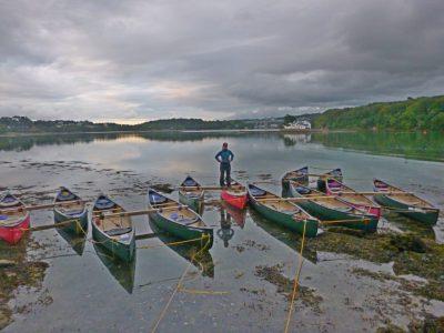 canoeing-menai-straits-activity-Gwynedd-uk