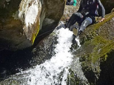 canyoning activity in north wales uk
