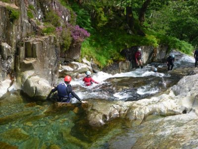 canyoning outdoor activity centre snowdonia uk