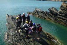 coasteering cliff jump north wales