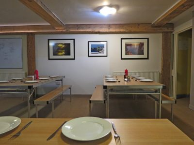 Large Group Dining Area for Accomodation at Arete