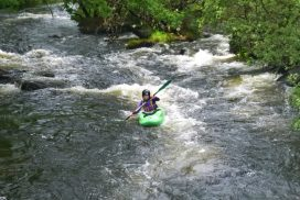 find adventure activities of white water Gwynedd