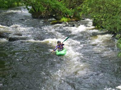 find adventure activities of white water Gwynedd