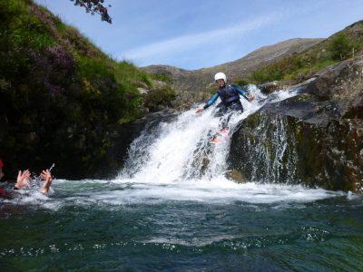 find canyoning activity in Gwynedd uk