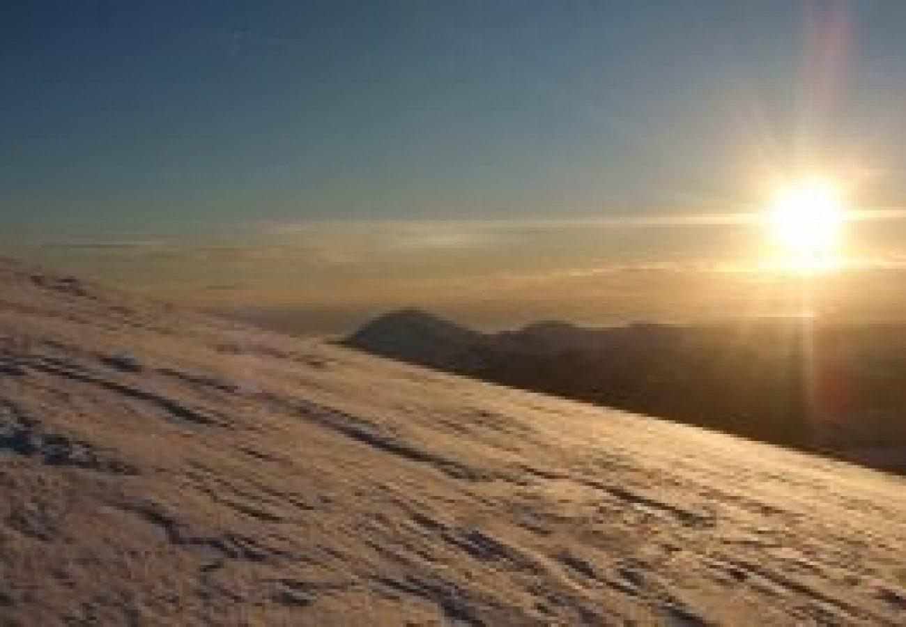 find outdoor adventure Winter mountain walking Midlands