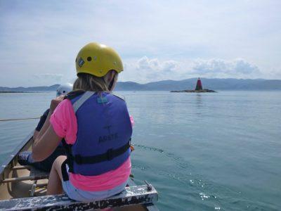 find sea-kayaking activity for kids snowdonia uk