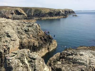 find sea swimming outdoor activity in north wales uk