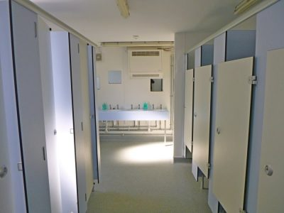 Girls Toilets and Showers for Main Group Accommodation