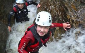 gorge scrambling activity centre north wales uk