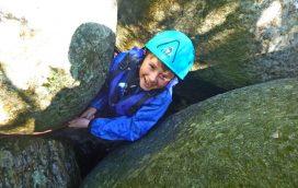 gorge scrambling climbing wales uk