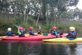 kayak-lake-Llyn-padarn north wales