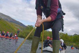 kayak-lake-Llyn-padarn snowdonia uk