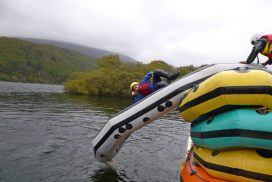 lake rafting padarn llanberis