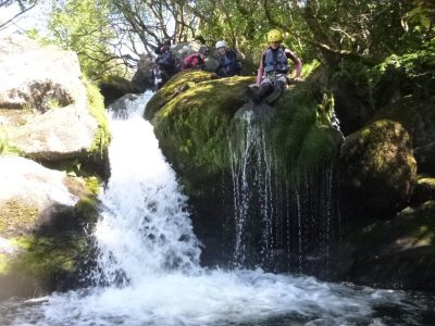 looking canyoning outdoor activity centre snowdonia