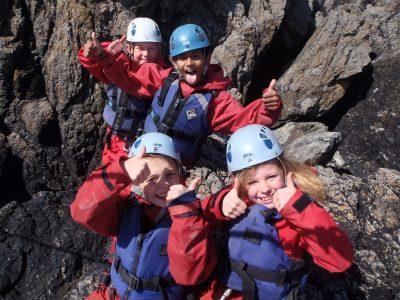 looking for coasteering cliff jump north wales