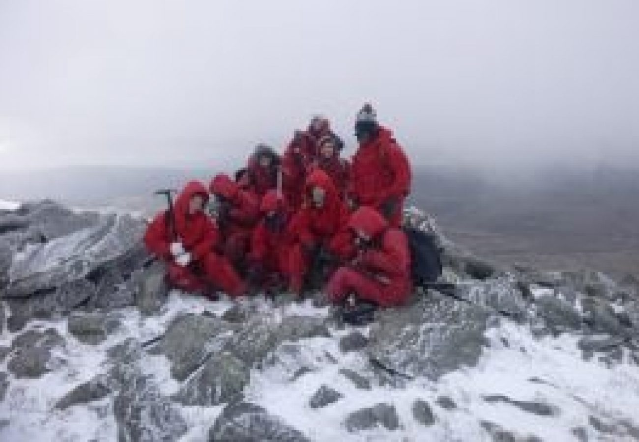 looking for outdoor adventure Winter mountain walking Midlands