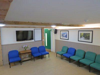 Main centre lounge area.