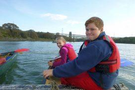 menai-straits-canoe north wales uk