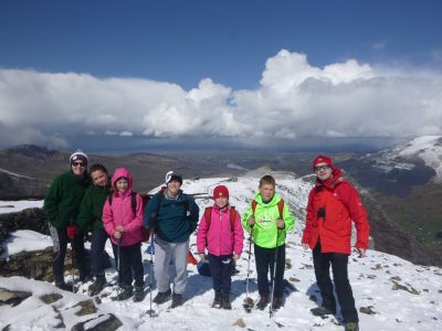 mountain walking Activities north wales