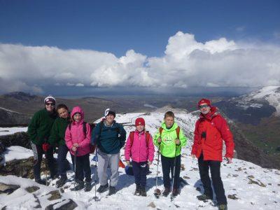 mountain walking Activities north wales