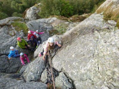 outdoor-rock-climbing-for-kids-Gwynedd-aretecentre