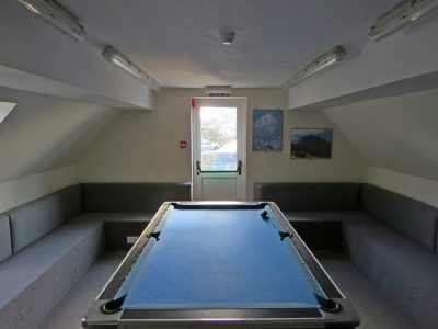 Pool Room in the Main Centre Accommodation