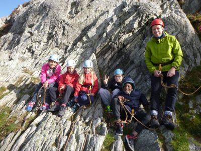 rock-climbing-for-kids-Gwynedd