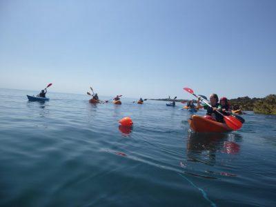 sea kayaking North wales