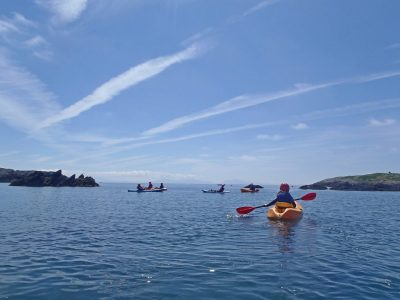sea-kayaking activity Gwynedd