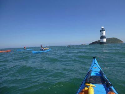 sea-kayaking activity snowdonia uk
