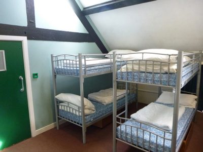 Bunk Beds in Dormitory Accommodation