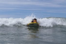 surfing outdoor activity for kids Gwynedd