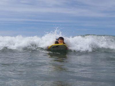 surfing outdoor activity for kids Gwynedd