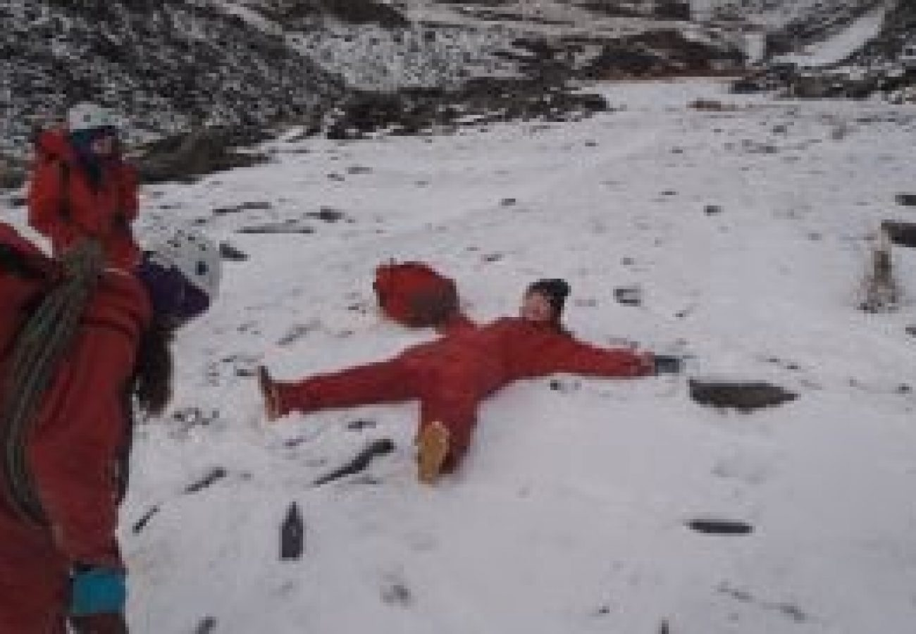 top Winter mountain walking North Wales