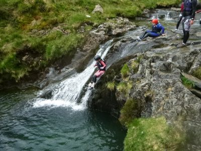 top canyoning activity in north wales
