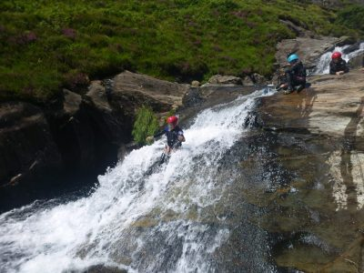 top canyoning outdoor activity centre snowdonia