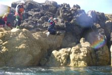 top coasteering cliff jump north wales