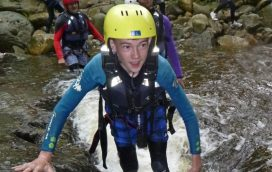 top gorge scrambling activity centre north wales uk