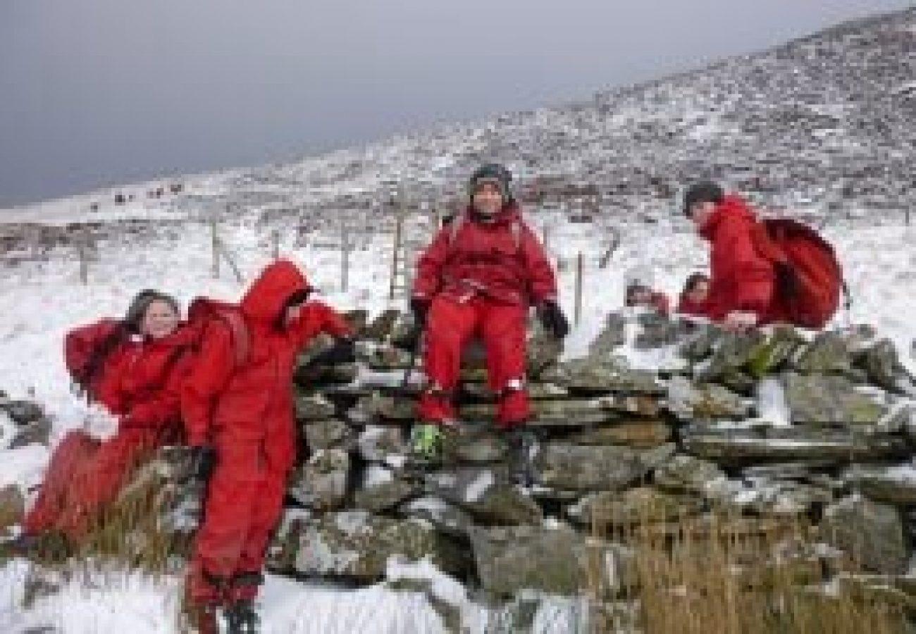 top outdoor Winter mountain walking noth wales