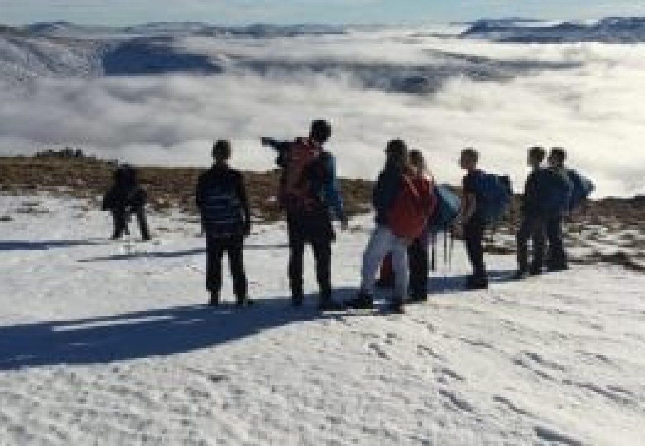 top outdoor adventure Winter mountain walking Midlands