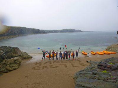 top sea-kayaking activity for kids Gwynedd
